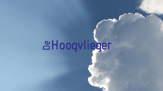 Ons tijdschrift De Hoogvlieger voortaan rechtstreeks in je inbox