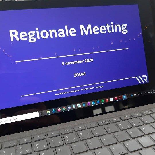 Online regionale meetings